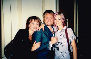 Lisa, Brian, & Ashley at Toni & Guy Fashion Show 2000